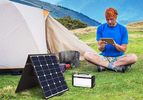 Camping Green Sustainable Eco-Friendly