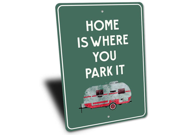 Camper Sign - Stitch & Simon