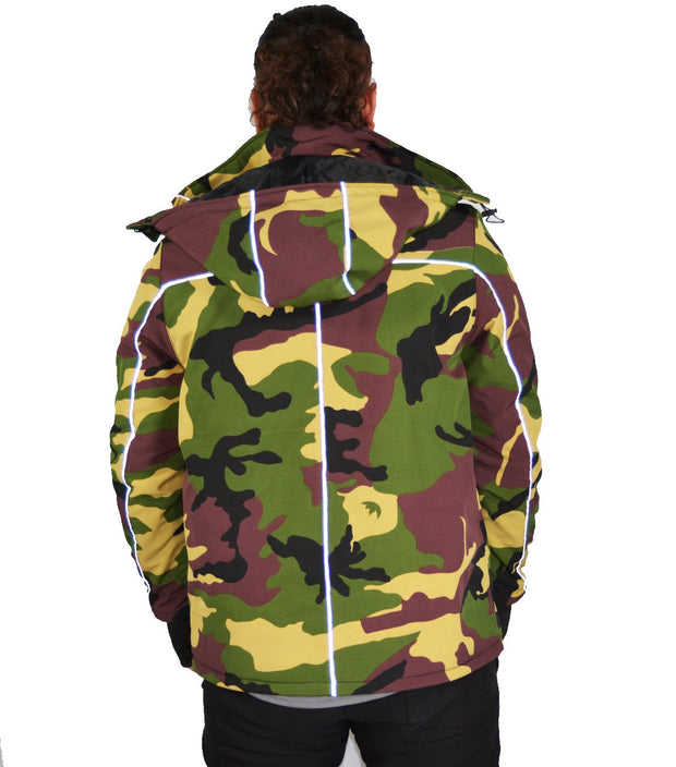 COOL CAMO DEFENDER X  COMMUTER JACKET CAMO - Camouflage - Stitch & Simon
