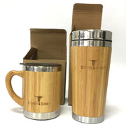 Reusable Bamboo Cup - Environmentally Friendly Cups - Eco Friendly Coffee Cups - Stitch & Simon