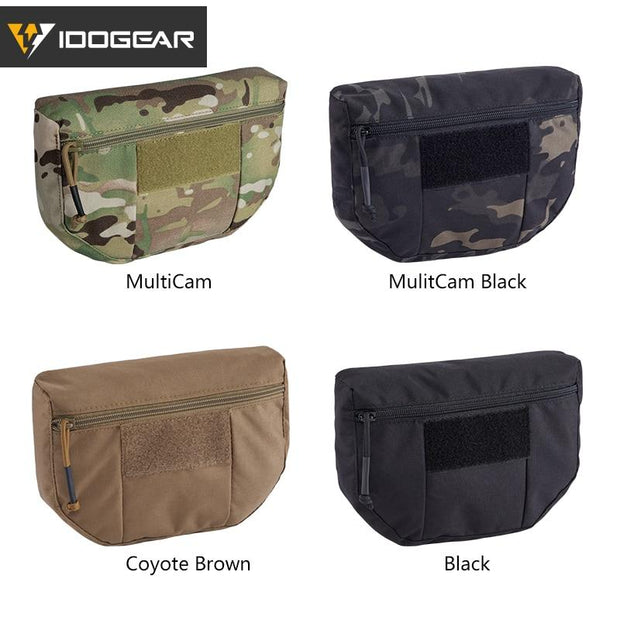 Camo Tactical Armor Carrier Drop Pouch Waist Bag Army Military Style - Stitch & Simon
