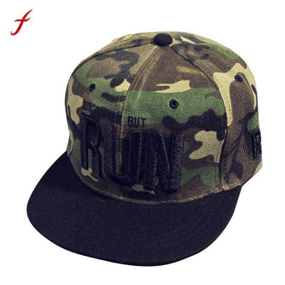Camo Hip Hop Hat Men Baseball Cap Camouflage Embroidery Snapback Solid - Stitch & Simon