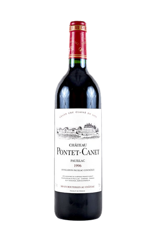 1996 Chateau Pontet-Canet (91 Pts)