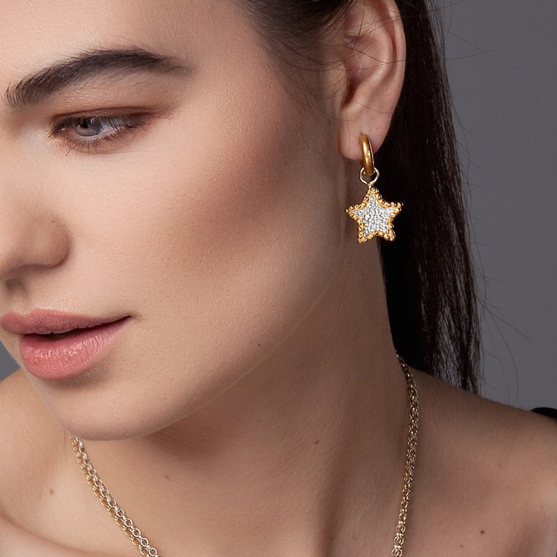 Neo Hoops & Hespe Star - Earrings