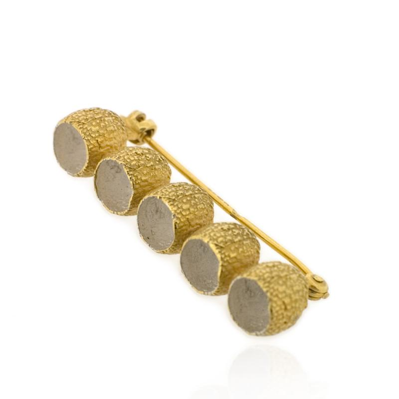 Kaia Brooch - Gold