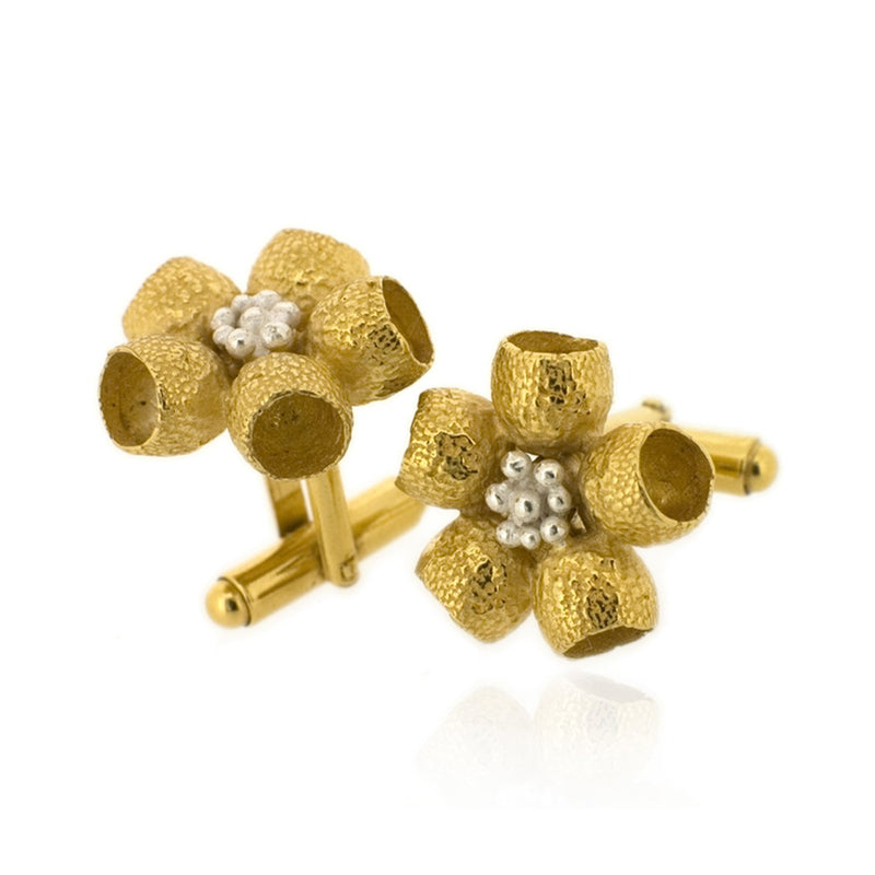 Ophelia Cufflinks - Gold
