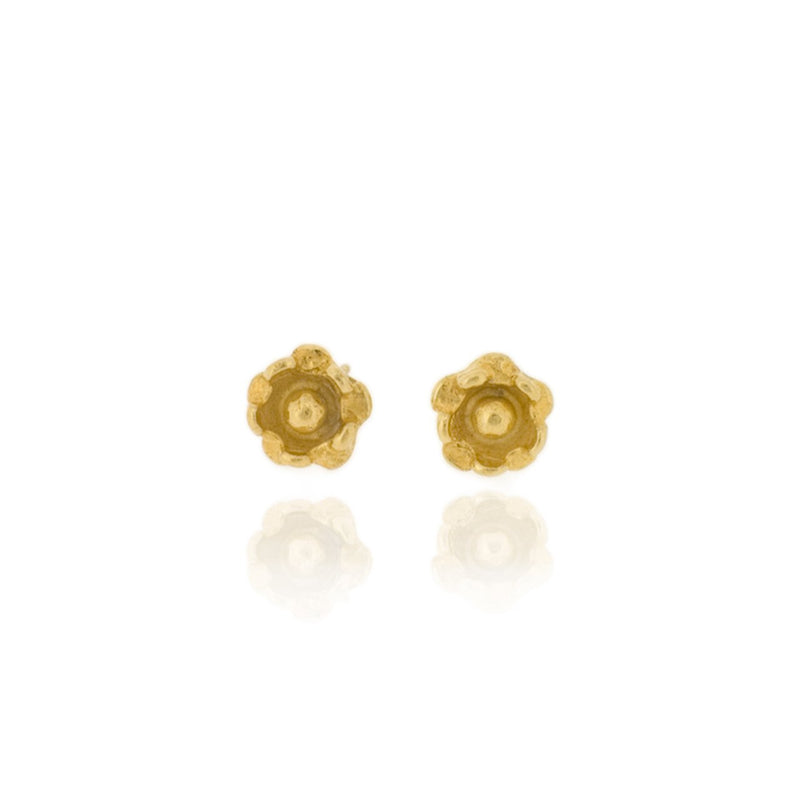 Delphine Stud Earrings - Gold