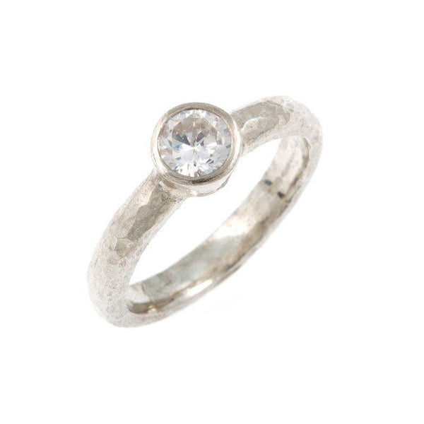 Kara Diamond Ring - 18ct White Gold