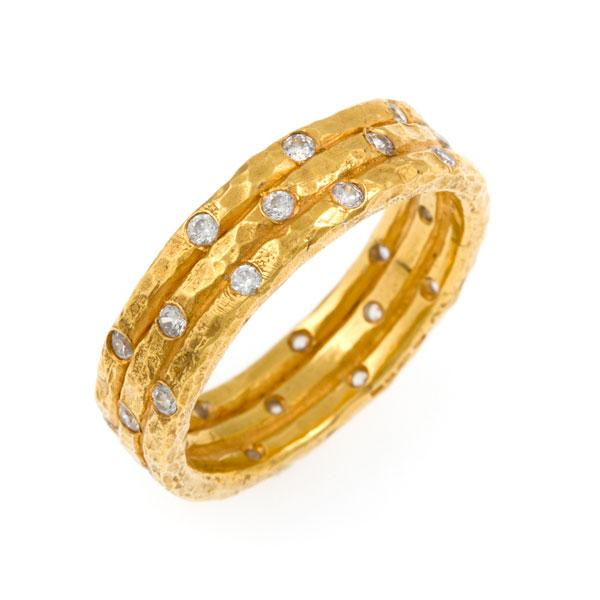 Damalis Diamond Ring - 18ct Gold & Diamonds