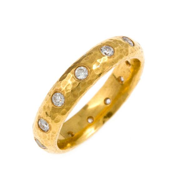 """Para Siempre"" Diamond Eternity Ring - Gold"