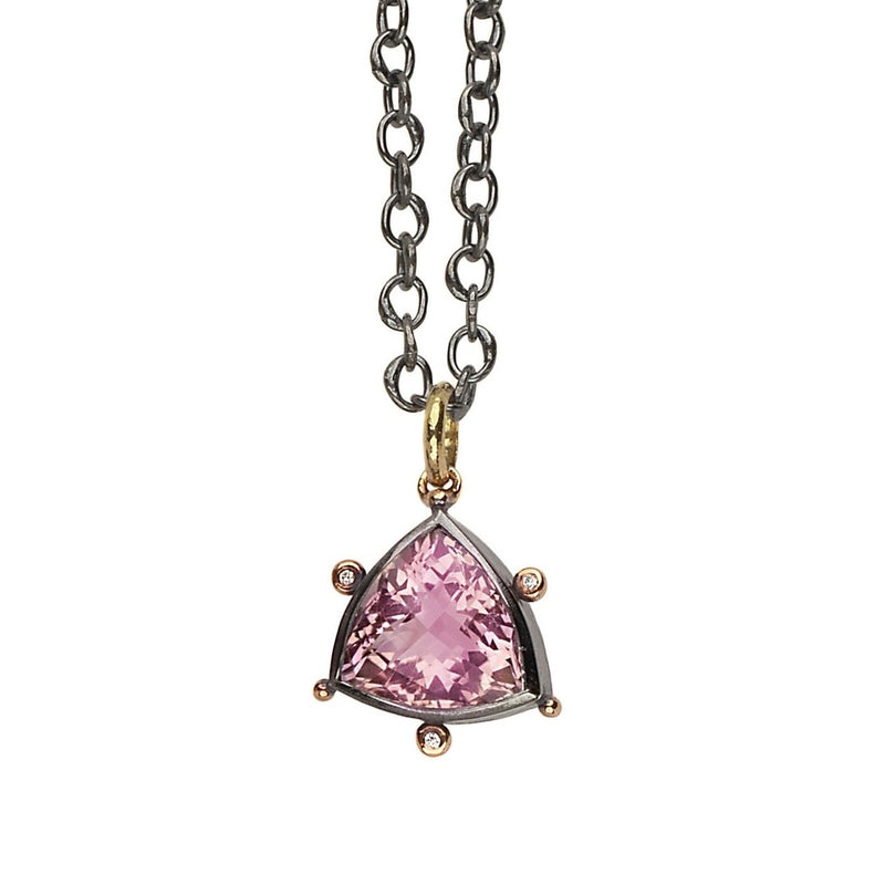 Daphne Pendant - Ametrine & Diamonds - Simonetta's Jewels Reimagined