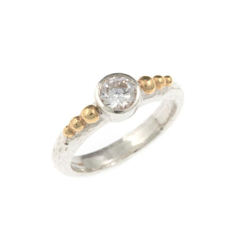 Eloide Diamond Ring - White Gold
