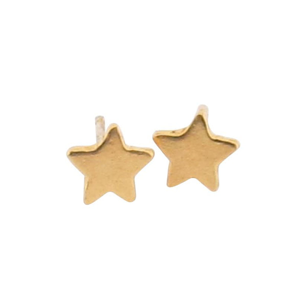 Kozma Stud Earrings - Gold