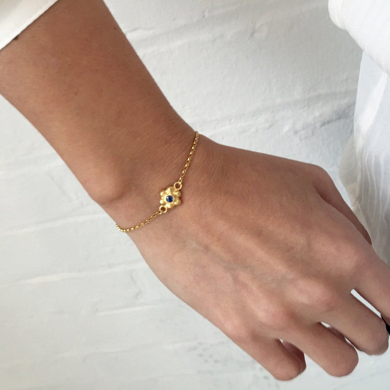 Grace Bracelet - Gold - Ruby