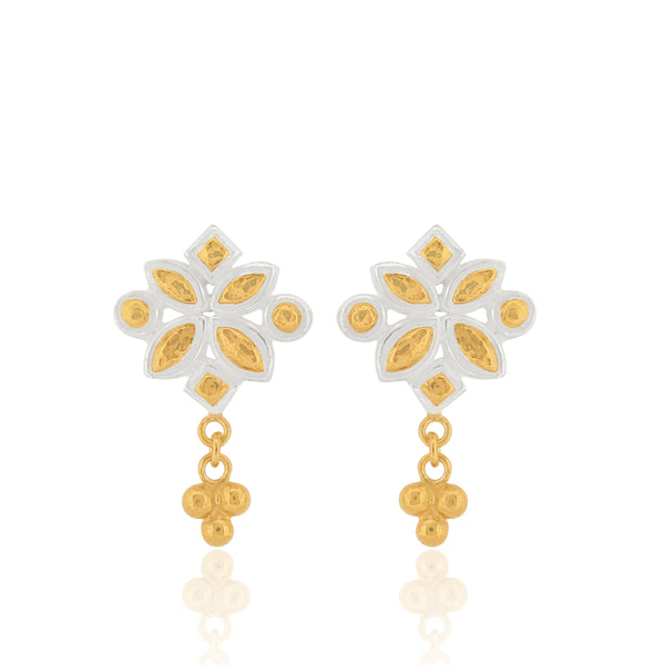 Mira Trinity Drop Earrings