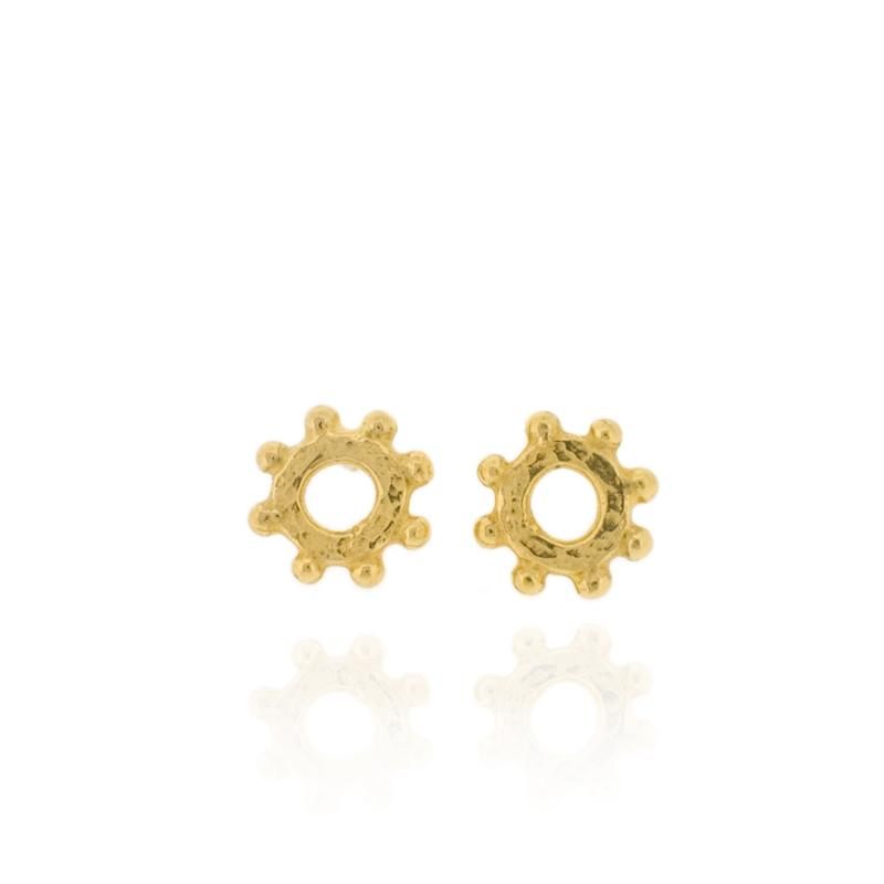 Casia Stud Earrings - Gold