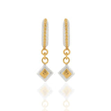 Silkey - Square Drop - Earrings