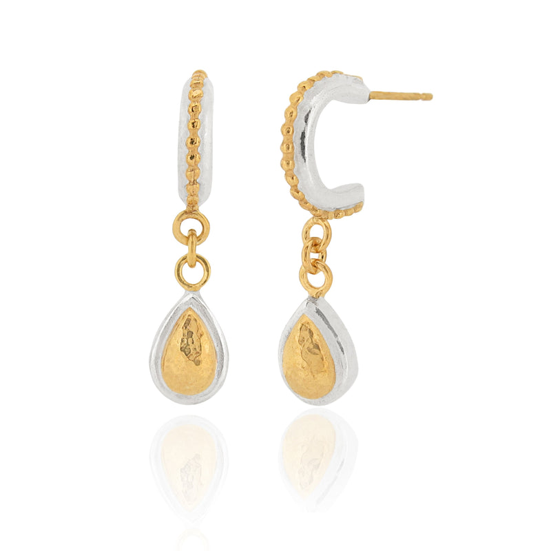 Silkey - Teardrops - Earrings
