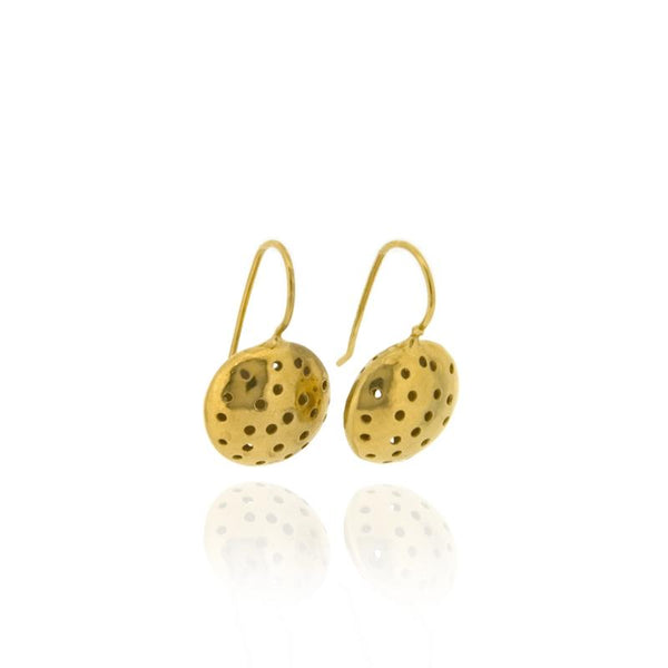 Selene Drop Earrings - Gold