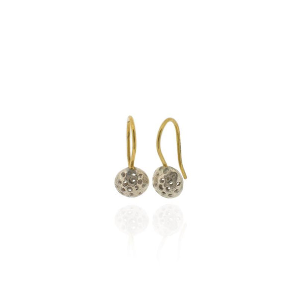 Alena Drop Earrings - Silver