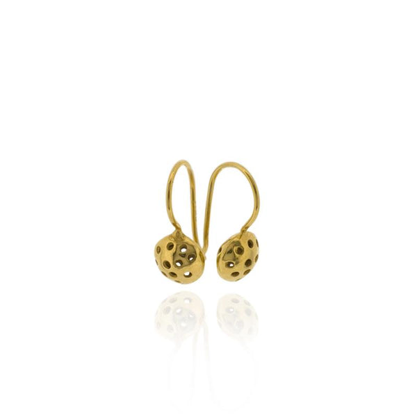 Alena Drop Earrings - Gold