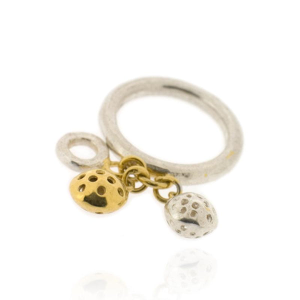 Selene 3 Charms Ring