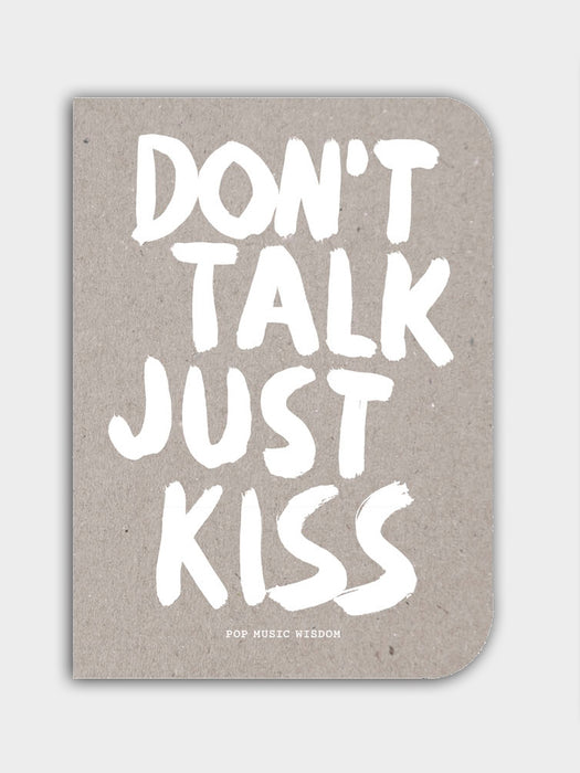 "Laurence King Verlag ""Don't talk just kiss"""