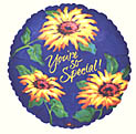 You're Special Sunflowers Balloon