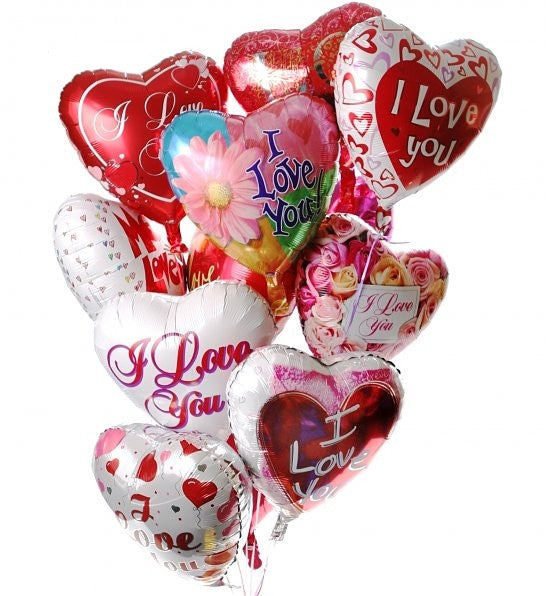 12 Valentines Day Balloons