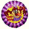 Happy Birthday Taz Balloon