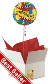 Congratulations Balloon in a Box