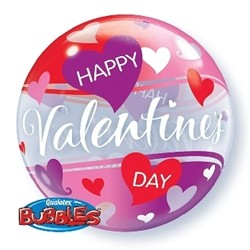 Happy Valentines Day Bubble Balloon