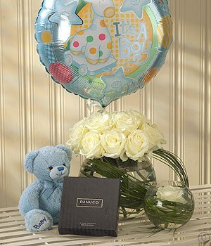 Mother and Baby Boy Gift Set