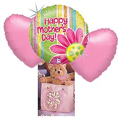 Mothers Day Bear Bouquet No 1