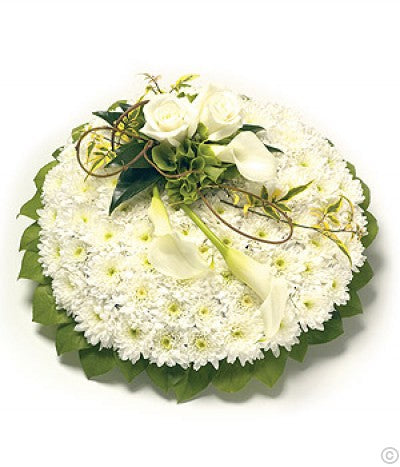 White & Green Posy