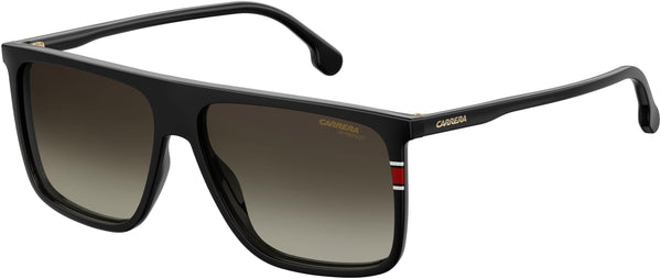 Carrera Sunglasses 0807-Black with Brown Gradient Lenses Kimi Raikkonen Carrera 172s Sunglasses