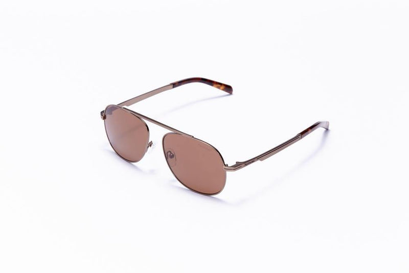 Formula 1 Eyewear Sunglasses Brown with Brown Lenses / 56-16-145 Large Size Formula 1 Blind Curve Sunglasses - Available for Pre-Order 12/1/2020