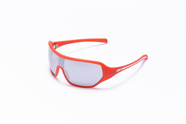 Formula 1 Eyewear Sunglasses Red with Grey Lenses / 143-120 Formula 1 Hooked Up Sunglasses-Available for Pre Order Now!