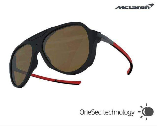 McLaren Eyewear Sunglasses 58-15-145 Medium Size McLaren OneSec Electrochromic Limited Edition Sunglasses