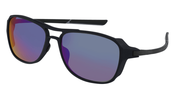 McLaren Eyewear Sunglasses C03-Matt Dark Blue Front with Black/Light Grey Temples & Watersports Blue Polarized Lenses / 58-16-145 Large Size McLaren Graphite Series 02 Sunglasses-New!