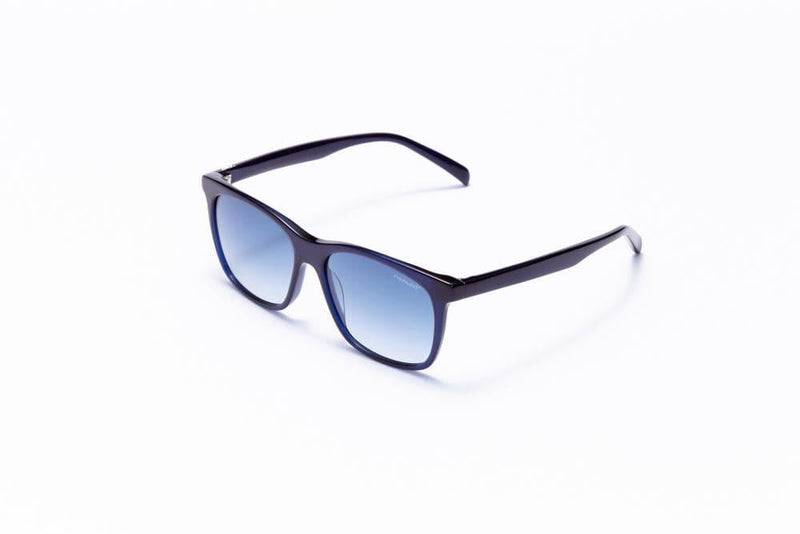 Motor Optics Sunglasses Dark Blue with Blue Gradient Driving Lenses / 55-15-145 Large Size Formula 1 Accelerate Sunglasses - Available for Pre-Order 12/1/2020