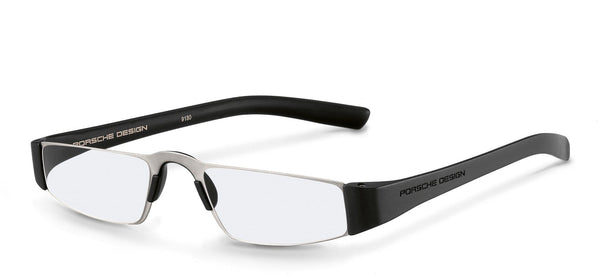 Porsche Design Reading Glasses A-Silver & Black / +1.50 Diopter P8801 Porsche Design Reading Glasses