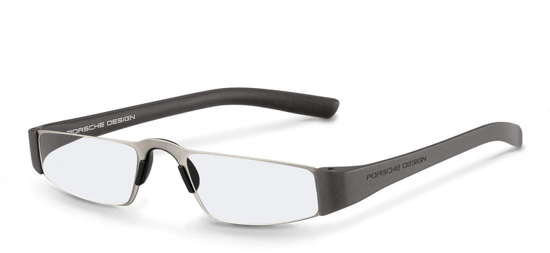 Porsche Design Reading Glasses F-Titanium & Silver / +1.50 Diopter P8801 Porsche Design Reading Glasses