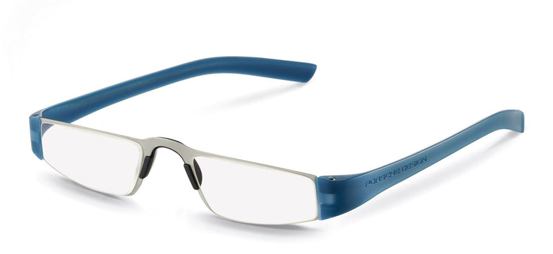 Porsche Design Reading Glasses N-Silver & Blue / +1.50 Diopter P8801 Porsche Design Reading Glasses
