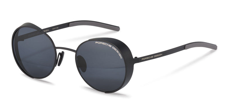 Porsche Design Sunglasses A-Black / 50-21-135 Small Size P8674 Porsche Design Sunglasses-Special Order