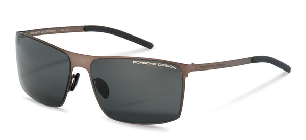 Porsche Design Sunglasses B-Brown with Grey Blue Lenses / 64-16-135 P8667 Sunglasses Porsche Design