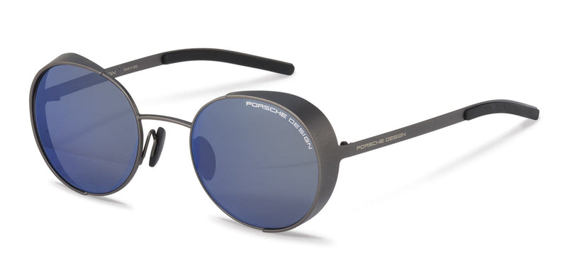 Porsche Design Sunglasses B-Grey / 50-21-135 Small Size P8674 Porsche Design Sunglasses-Special Order