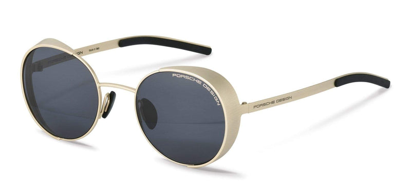 Porsche Design Sunglasses C-Gold / 50-21-135 Small Size P8674 Porsche Design Sunglasses-Special Order