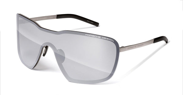 Porsche Design Sunglasses P8664 Porsche Design Fused Visor Sunglasses-Limited Edition