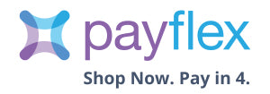 Payflex. Shop Now. Pay in 4.